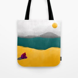 Simple Housing - Beyond the sea Tote Bag