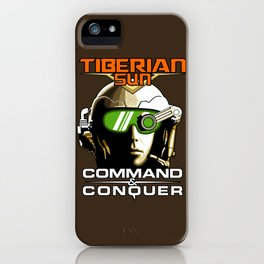 Tiberian Sun Commander iPhone Case