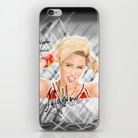 miley iPhone & iPod Skins featuring Miley by Marven RELOADED