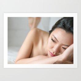 Oriental Spa Art Print