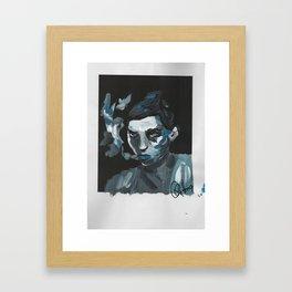Jean Framed Art Print