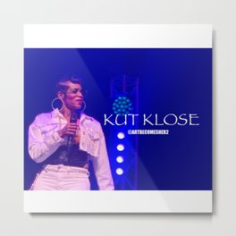 Up KLOSE & Personal - Photography Metal Print