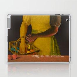 the truth is dead · ? Die Frau mit den Bananen Laptop & iPad Skin