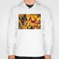 carnival Hoodies featuring Carnival by Trevor Jolley
