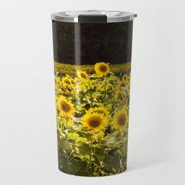 Sunflowers 5 Travel Mug