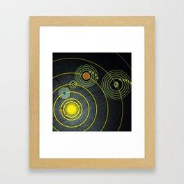 GOLDEN RECORD Framed Art Print