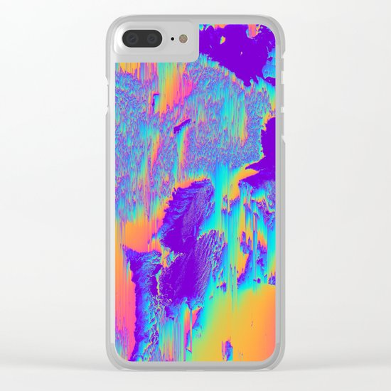 LUCILLE Clear iPhone Case