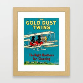 Vintage Clean Framed Art Print