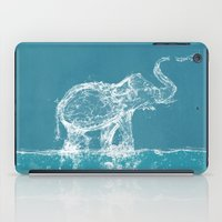 ornate elephant iPad Cases featuring Elephant by Paula Belle Flores