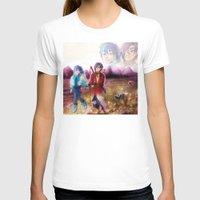 dmmd T-shirts featuring dmmd beach by Mottinthepot