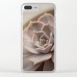Echeveria #1 Clear iPhone Case