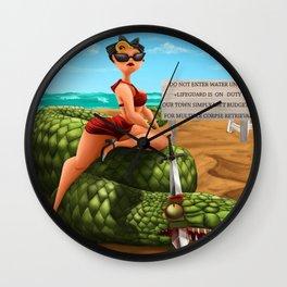 Life Guard Wall Clock