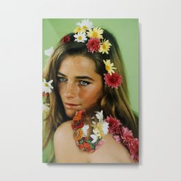 Remember Charlotte Rampling. Metal Print