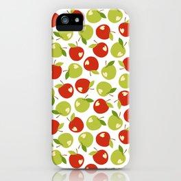 Bitten apples iPhone Case