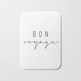Bon Voyage Bath Mat