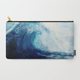 Waves II Carry-All Pouch