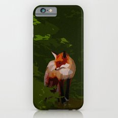 FOX IN A COOL GREEN WORLD iPhone 6s Slim Case