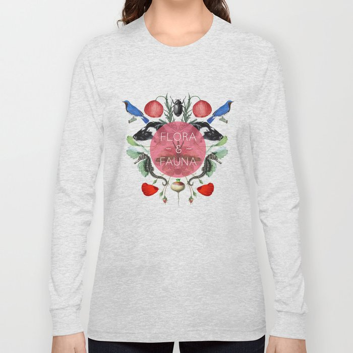 Flora & Fauna Long Sleeve T-shirt