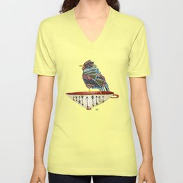 Spirit Bird Unisex V-Neck