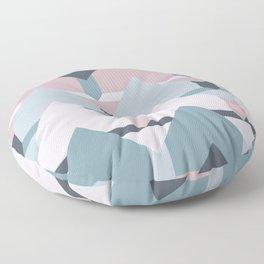 Scandi Waves #society6 #scandi #pattern Floor Pillow