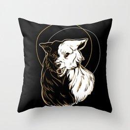 Wolf Splendor Throw Pillow