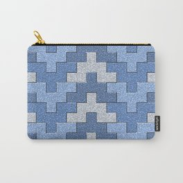 Zigzag Blocks Carry-All Pouch