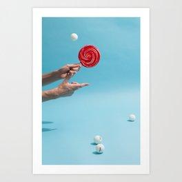 Play Ball Art Print