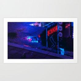 Tokyo Nights / Kabukicho Reflections / Liam Wong Art Print