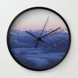 Canadian Rockies | British Columbia, Canada | John Hill Photography Wall Clock