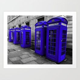 A Jolly Good Day in England Art Print