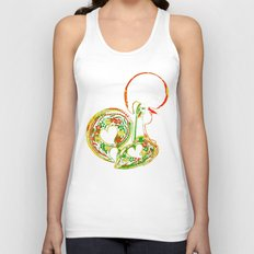 The Rooster Unisex Tank Top