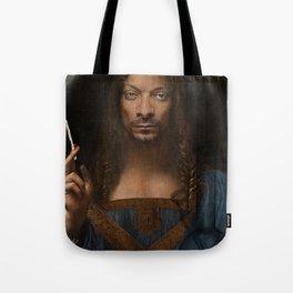 Sativator Mundi Tote Bag