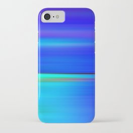 Night light abstract iPhone Case