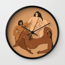 The Furies Wall Clock