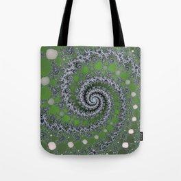 Fractal Swirl Tote Bag