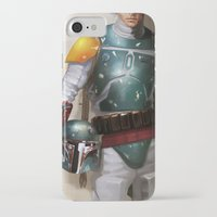 boba iPhone & iPod Cases featuring Boba Fett by Yvan Quinet