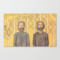 Bearded Men Canvas Print