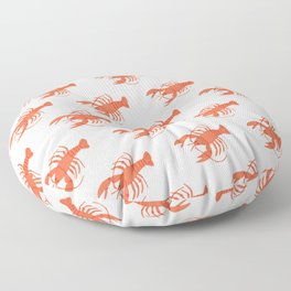 The World is Your Lobster Floor Pillow