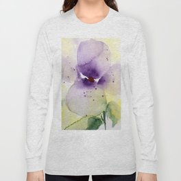 pansy Long Sleeve T-shirt