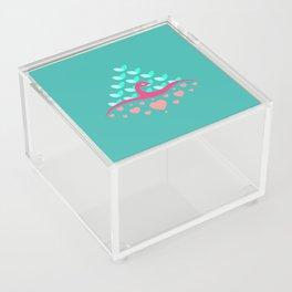 Be Beautiful - Be Colourful Peacock Acrylic Box