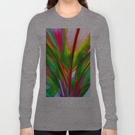 Ti Leaf Series #4 Long Sleeve T-shirt