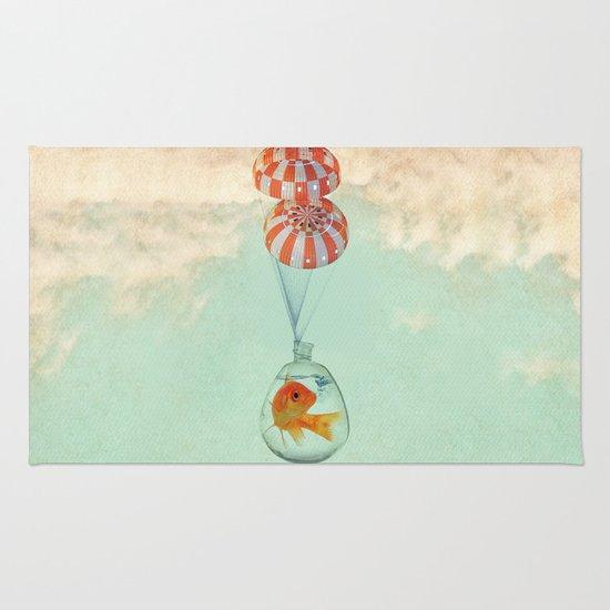 parachute goldfish Rug