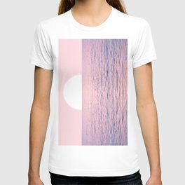 Pink on the Sea T-shirt