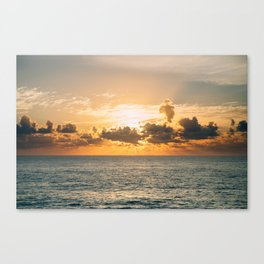 Dramatic Sunscape Canvas Print