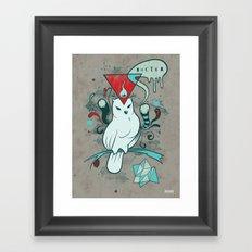 Noctua Framed Art Print