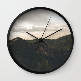 Runyon Canyon Wall Clock