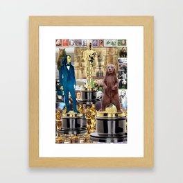 Oscar,Franz Liszt,Bear Framed Art Print