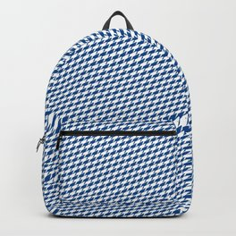 Baby Sharkstooth Sharks Pattern Repeat in White and Blue Backpack
