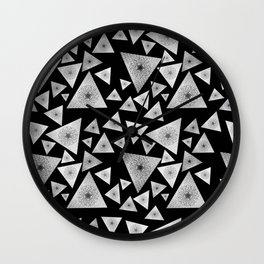 Pyramid I Wall Clock