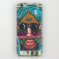 illuminati iPhone & iPod Skins featuring IllUmiNaTi by CREATOROFARTS